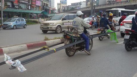Xu ly 1.948 truong hop xe cho hang cong kenh - Anh 1