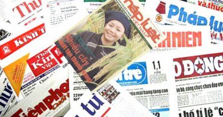 Diem bao ngay 06/10/2016: Cho am thuc bam nat hanh lang de song Hong - Anh 1