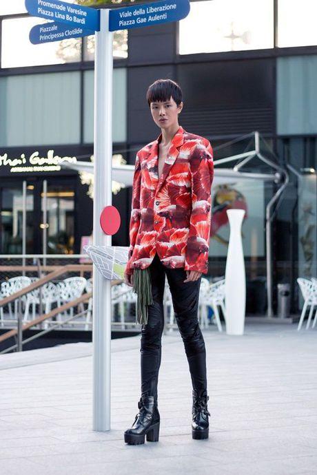 Ha Kino khoe streetstyle sieu ngau tai Milan Fashion Week 2016 - Anh 10
