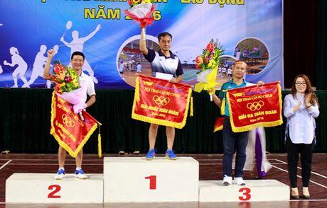 CD Tong Cty luong thuc mien Bac: Be mac Hoi thao can bo CNV – LD nam 2016 - Anh 3