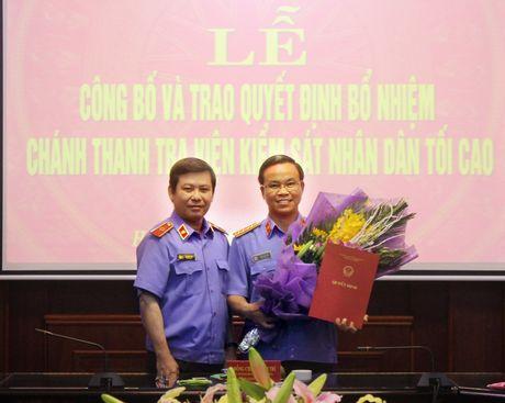 Thu ki ong Nguyen Ba Thanh lam Chanh Thanh tra VKSNDTC - Anh 2