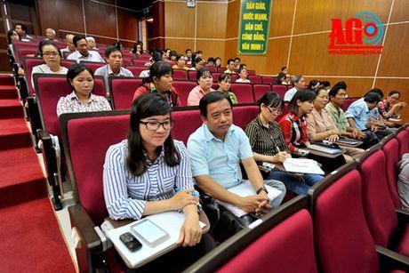 Long Xuyen: Tap huan cong tac Mat tran co so - Anh 1