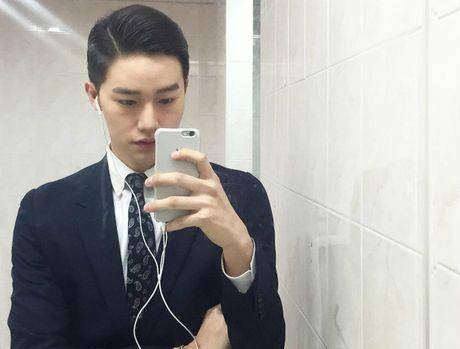 Hot boy Han Quoc cao 1,85 m tro thanh ngoi sao tren mang - Anh 7