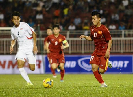 DTVN vs CHDCND Trieu Tien (5-2): Chien thang tung bung - Anh 5