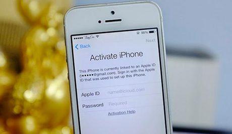 iPhone bat ngo bi khoa thanh 'cuc gach' vi loi Activation lock - Anh 2