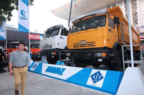 Vietnam Motor Show 2016: Kamaz 'mot thoi vang bong' tro lai Viet Nam - Anh 1