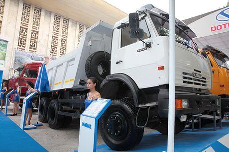 Vietnam Motor Show 2016: Kamaz 'mot thoi vang bong' tro lai Viet Nam - Anh 3