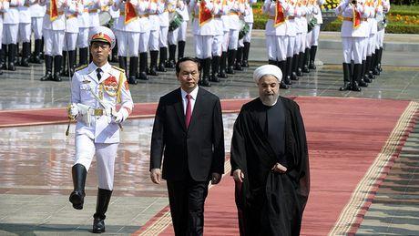 Tong thong Iran tham chinh thuc Viet Nam - Anh 1