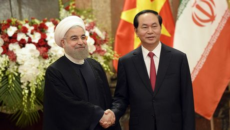 Tong thong Iran tham chinh thuc Viet Nam - Anh 6