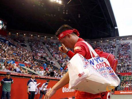 Tennis ngay 6/10: Nishikori rut lui vi chan thuong. Tinh cu tan thanh an cam thi dau voi Sharapova - Anh 4