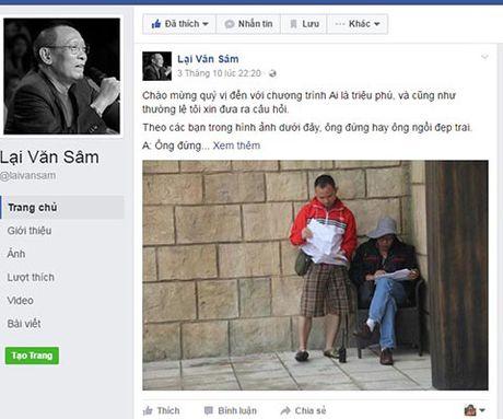 Facebook Lai Van Sam 'nhai', tung anh 'doc', 'da xoay' TS Doan Huong - Anh 2