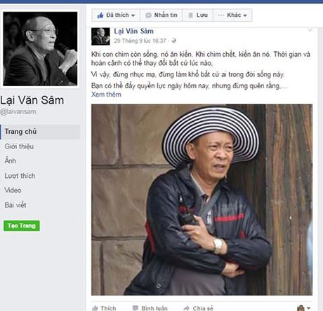 Facebook Lai Van Sam 'nhai', tung anh 'doc', 'da xoay' TS Doan Huong - Anh 4