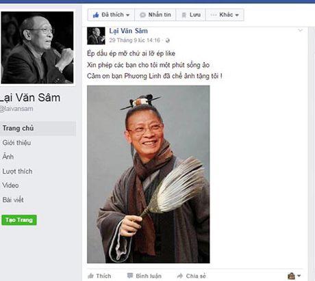 Facebook Lai Van Sam 'nhai', tung anh 'doc', 'da xoay' TS Doan Huong - Anh 5