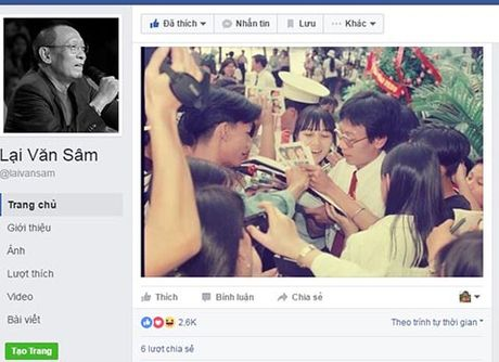 Facebook Lai Van Sam 'nhai', tung anh 'doc', 'da xoay' TS Doan Huong - Anh 6