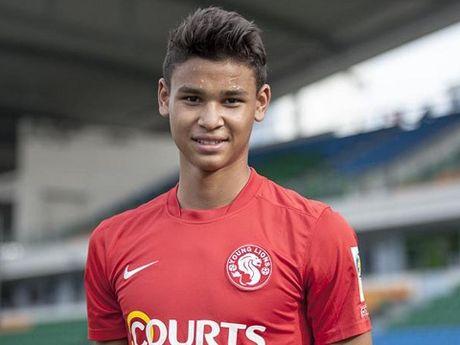 Tuyen Singapore trieu tap con trai huyen thoai Fandi Ahmad - Anh 1