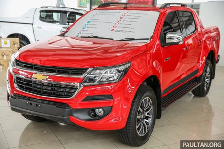 Chevrolet Colorado 2016 ban nang cap lo dien - Anh 2