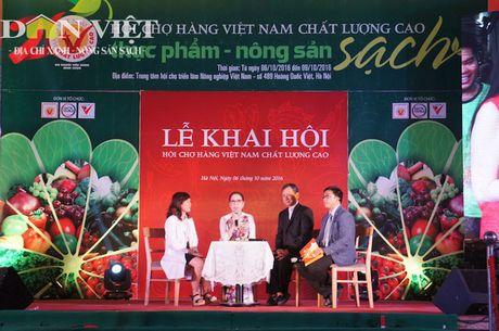 Hang Viet Nam Chat luong cao – Nong san Sach 'do bo' Thu do - Anh 7