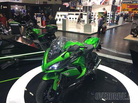 Ngam 'hang khung' 2017 Kawasaki Z1000SX tai Intermot 2016 - Anh 3