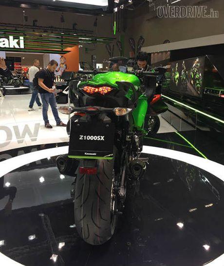 Ngam 'hang khung' 2017 Kawasaki Z1000SX tai Intermot 2016 - Anh 5