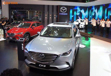 Mazda Viet Nam 'trinh lang' loat xe moi tai VMS 2016 - Anh 1
