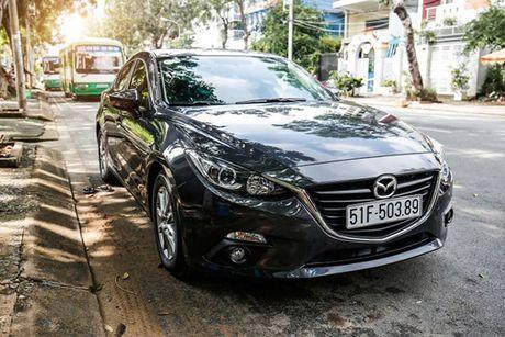 'Than den' Sai Gon do Mazda3 phong cach sieu xe - Anh 1