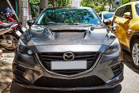 'Than den' Sai Gon do Mazda3 phong cach sieu xe - Anh 5
