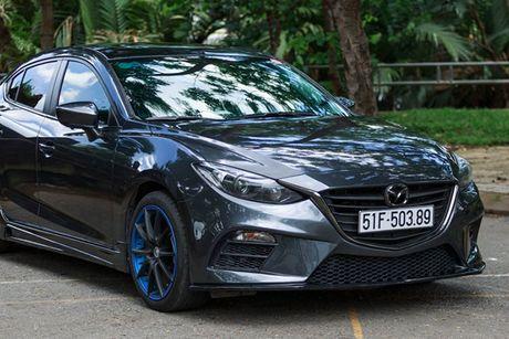 'Than den' Sai Gon do Mazda3 phong cach sieu xe - Anh 6