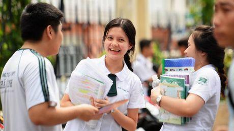 Bo GD&DT chinh thuc co phan hoi ve de an thi THPT cua TPHCM - Anh 1