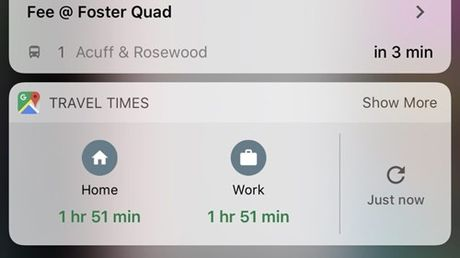 Google Maps ban cap nhat ho tro tot hon iOS 10 - Anh 1
