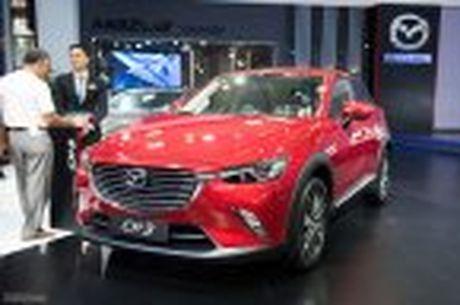 Mazda trung bay CX-3, khang dinh chua co ke hoach ban tai Viet Nam - Anh 3
