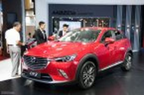 Mazda trung bay CX-3, khang dinh chua co ke hoach ban tai Viet Nam - Anh 4