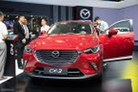 Mazda trung bay CX-3, khang dinh chua co ke hoach ban tai Viet Nam - Anh 5