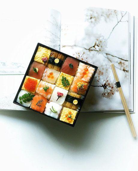 "Thich thu truoc nghe thuat ""lam dep"" cho sushi - Anh 8"