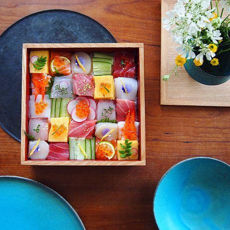"Thich thu truoc nghe thuat ""lam dep"" cho sushi - Anh 9"