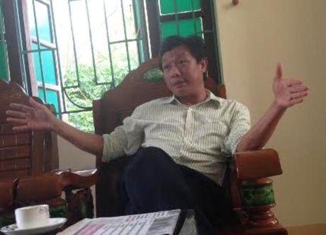 """Phuong dong cua nhiem so di lien hoan """"sep"""" cu len chuc - Anh 1"""