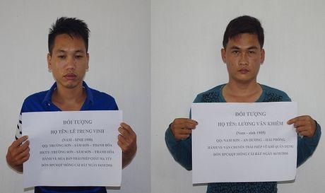 Quang Ninh: Hai ngay bat ba vu van chuyen sung va ma tuy trai phep - Anh 1