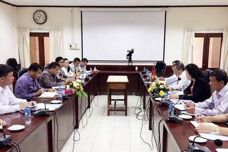 Dong Kham Xang: Bieu tuong cua tinh doan ket, huu nghi sat son Viet - Lao - Anh 2