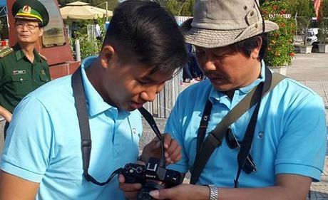 Quang Ninh: Khai mac trai sang tac VHNT ve bien gioi, bien dao - Anh 8