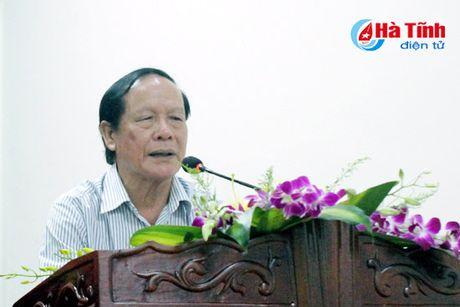 Bao Ha Tinh gap mat CTV-TTV va phat dong thi viet ve nong thon moi - Anh 3