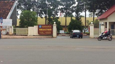 "Nhieu ""nghi van"" trong viec dau thau xay dung nha dieu hanh trung tam DH Tay Nguyen - Anh 1"