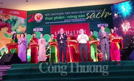 Khai mac Hoi cho thuc pham – nong san sach 2016 - Anh 1