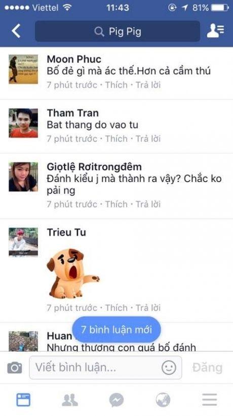 Thai Nguyen: Bo danh con gan chet gay day song cong dong mang - Anh 2
