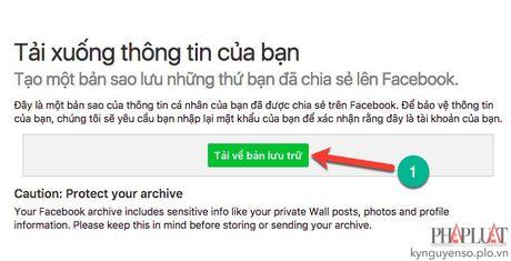 Khoi phuc tin nhan da xoa tren Facebook - Anh 3