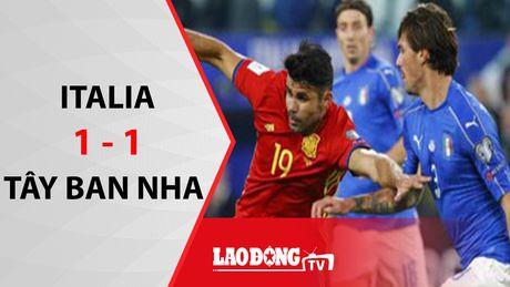 Hoa 1 - 1, Italia va Tay Ban Nha de mat ngoi dau vao tay Albania - Anh 1