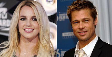 Britney Spears mung ra mat vi Brad Pitt doc than - Anh 1