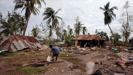 Haiti lam vao tinh trang khung hoang sau bao Matthew - Anh 6