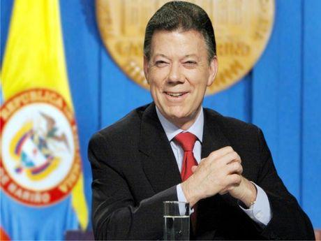 Tong thong Colombia gianh giai Nobel Hoa binh - Anh 1