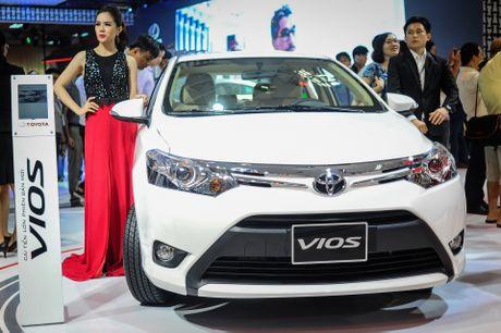 Toyota Vios 2016 ra mat tai VN, gia tu 532 trieu dong - Anh 1