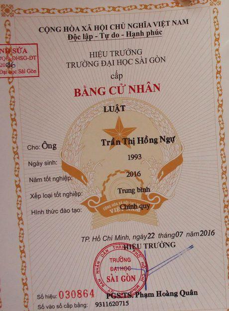 'DH Sai Gon phai cap lai bang nham gioi tinh cho sinh vien' - Anh 1