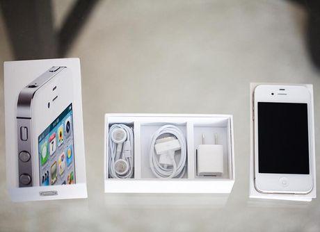 Sau iPhone 3GS, den luot 4S chua active xa hang ve VN - Anh 1